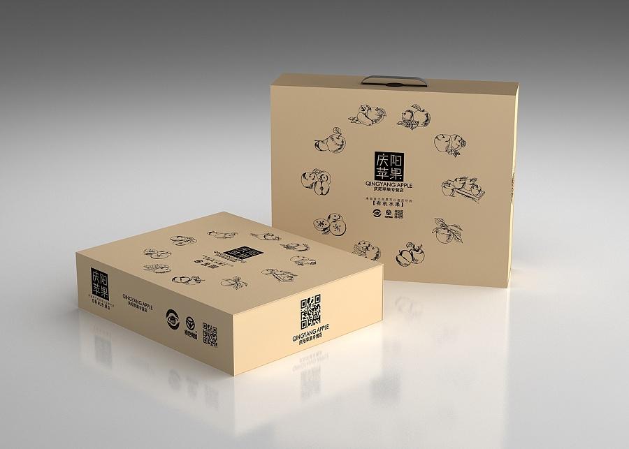 苹果手绘包装|包装|平面|shentt - 原创设计作品图片