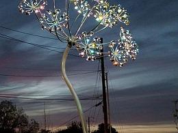 户外艺术灯光装置定制厂家铭星工厂专业生产室外景观灯
