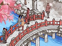 JCB*日本樱花季(一镜到底长图)