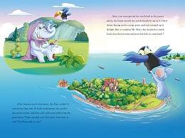 英文版欧美风儿童系列绘本