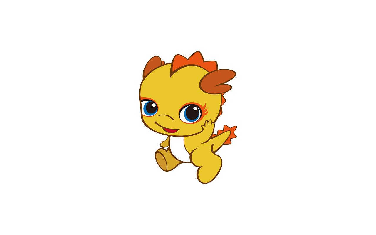 小龙人吉祥物设计图片