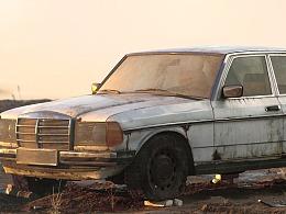 3D模型 Abandoned Benz