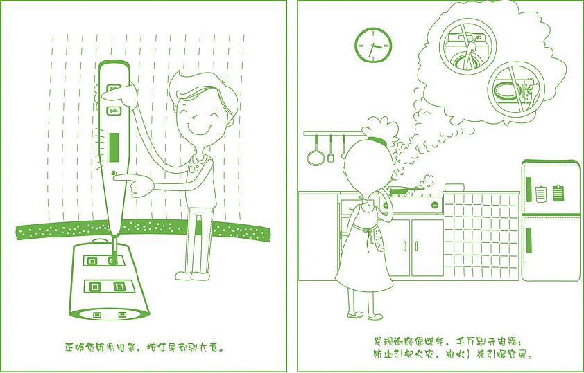 用电常识小漫画图片