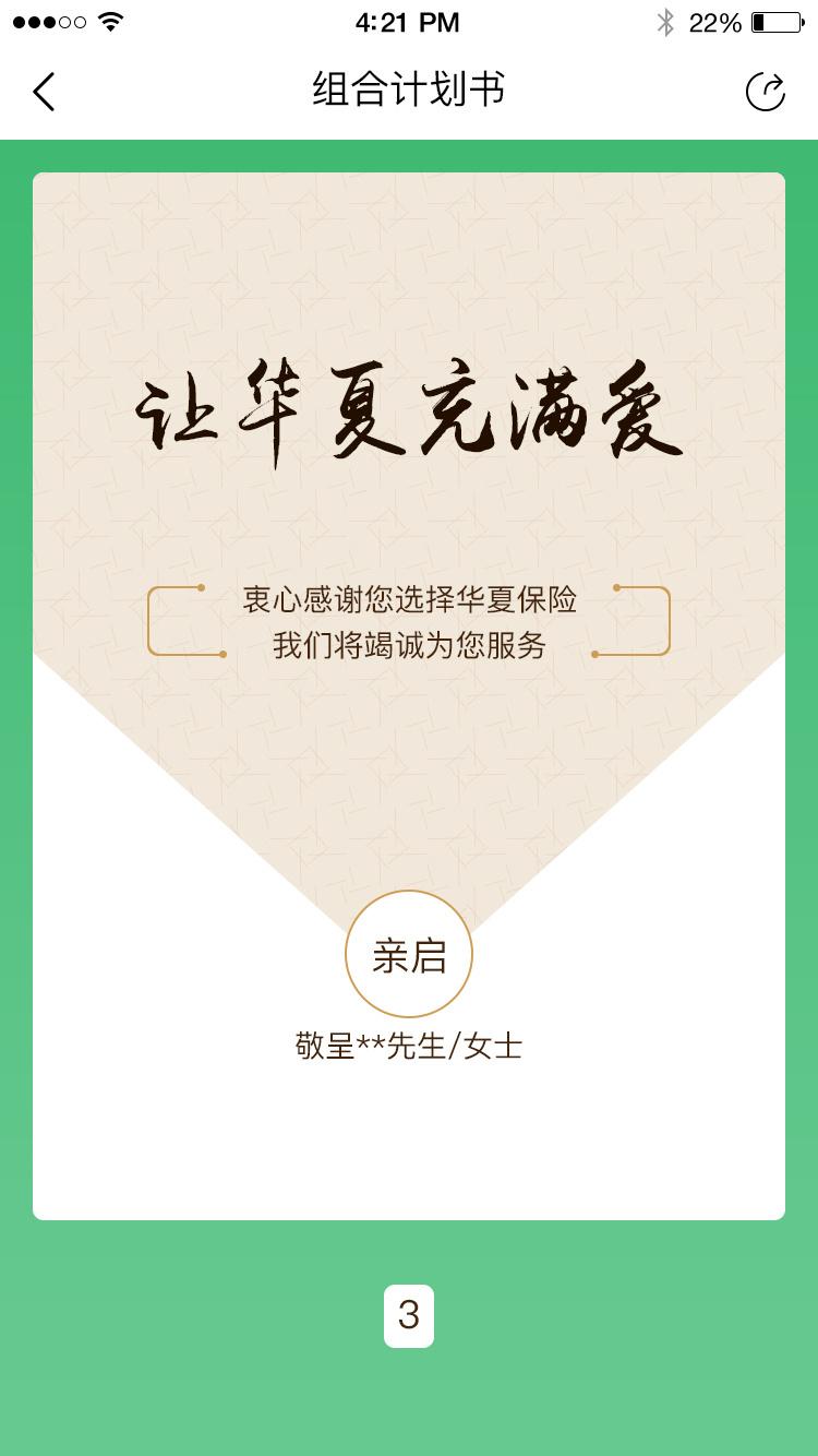 华夏保险-组合企划书