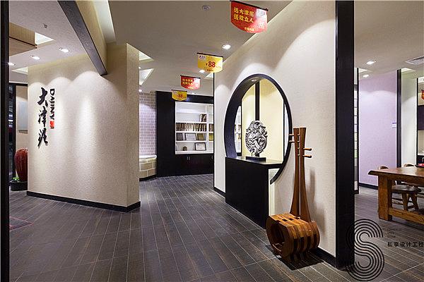 大津最好的艺术v最好成都店铺泥,硅藻幕墙前景装修设计铝吊顶和铝涂料店铺图片