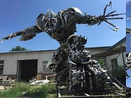 雕塑设计制作  打造美化城市商业空间 造梦视界ART团队