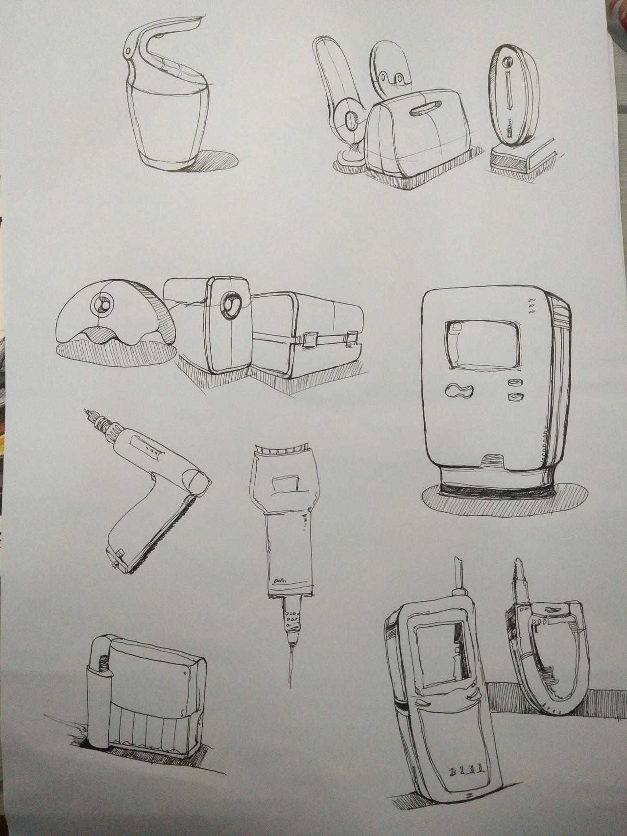 手绘作业|工业/产品|生活用品|彭许 - 原创作品