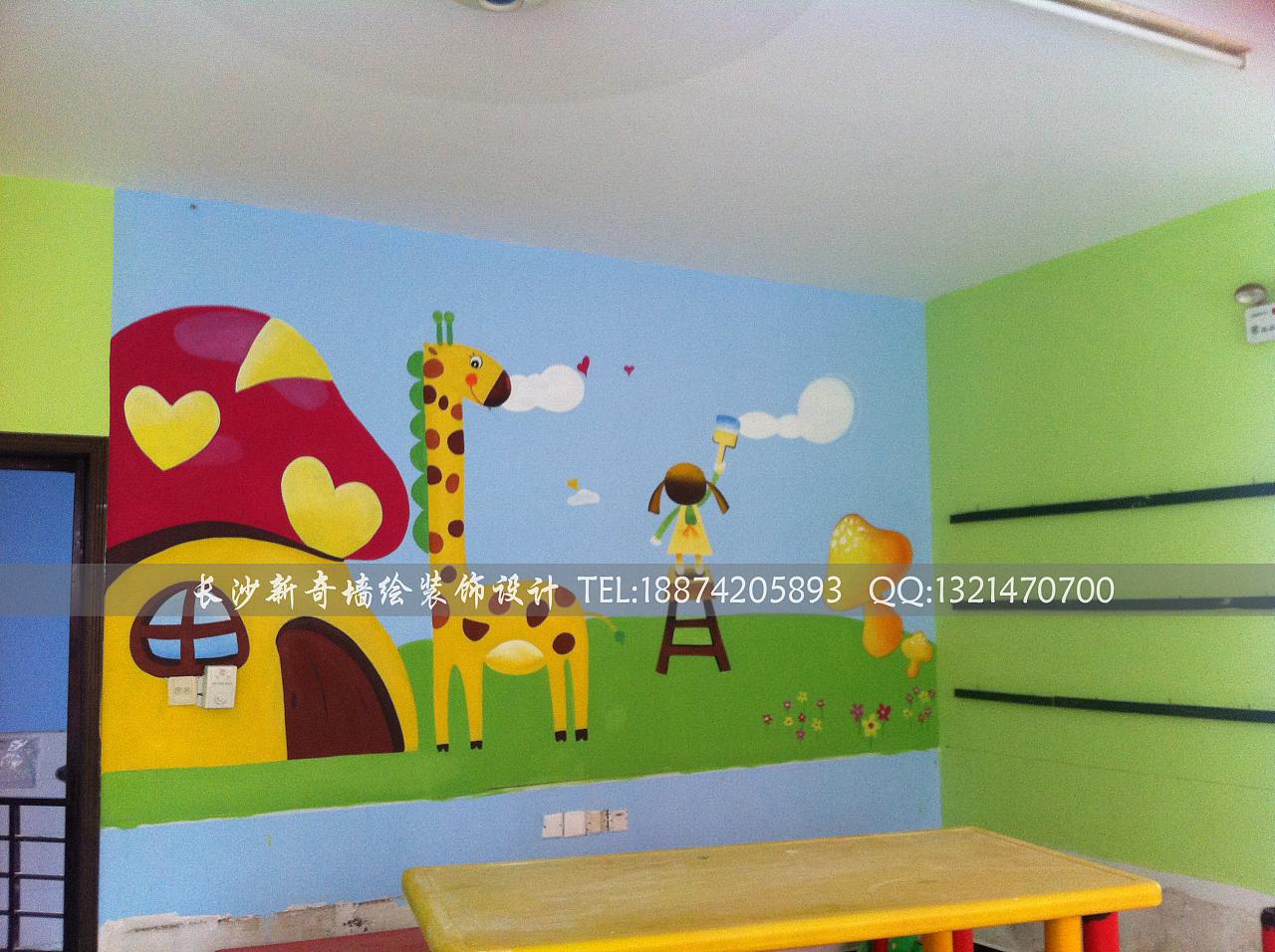 长沙新奇墙绘,长沙墙绘,长沙壁画,长沙手绘墙,长沙幼儿园墙绘,壁画,长