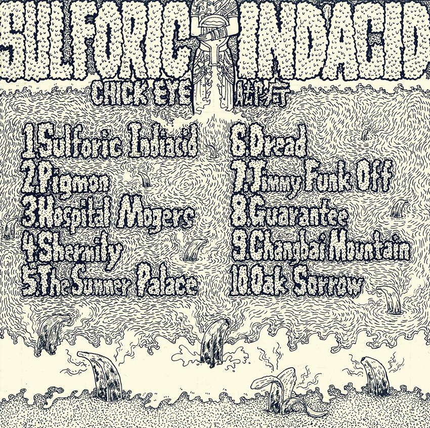 《Sulfuric Indiacid》(印度硫酸)专辑封面设计 商
