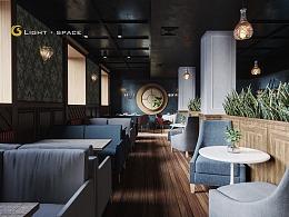 光域社丨美式咖啡厅
