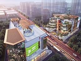 """【购物公园规划设计】三亚鸣翠谷:一座""""会呼吸的城"""""""