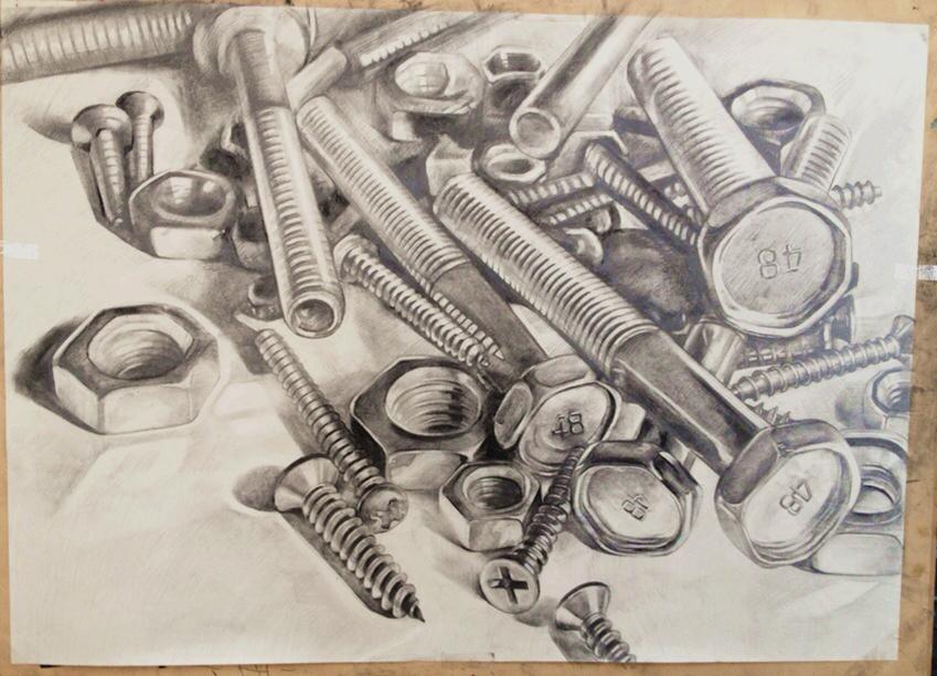 素描写生 油画静物