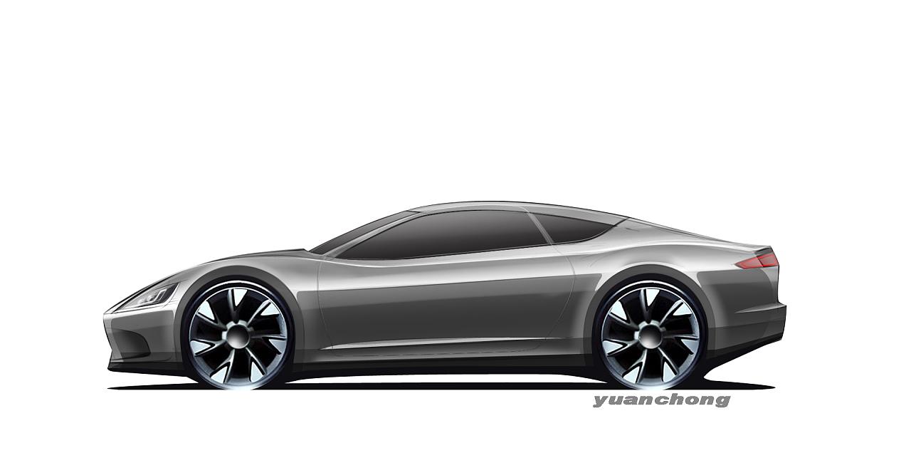 意大利风格的汽车造型设计手绘表现|工业/产品|交通