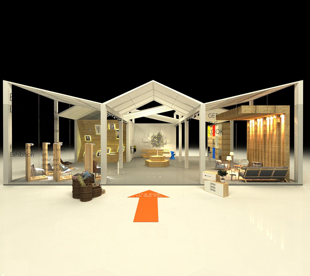 商业展会设计 空间 展示设计  leesc - 原创作品