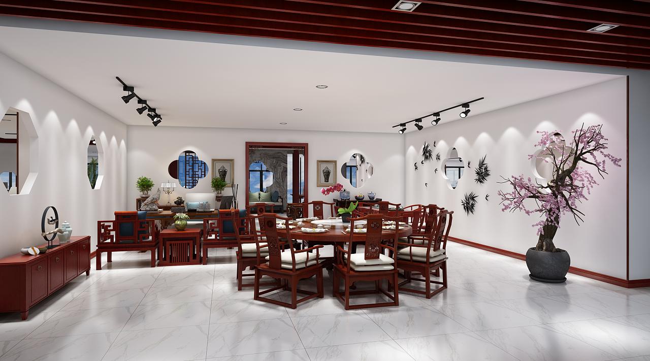 苏州红木家具图片一,二,三层效果图表现|空间|室内设计|wtz123562-原创作品-站酷(ZCOOL)展厅现代的简约家图片
