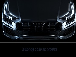 Audi Q8  C4D oc
