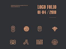 2018 LOGOFOLIO | 01