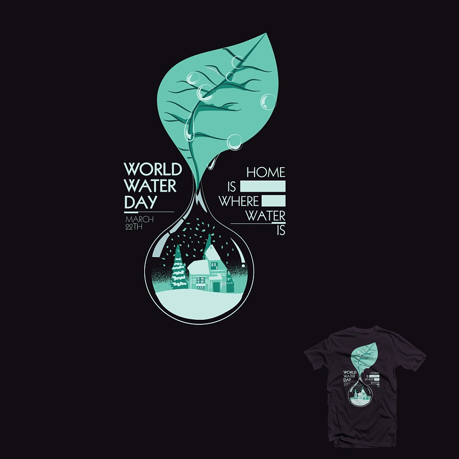 世界水日宗旨是唤起公众的节水意识,加强水资源保护.图片