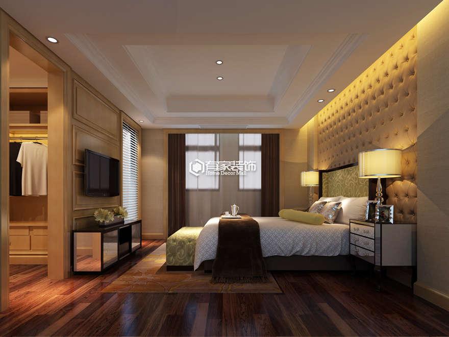厦门松柏别墅500平欧式古典装修风格案例效果图|室内