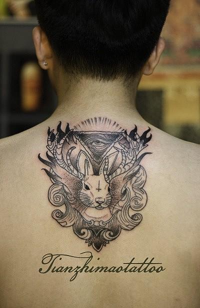 南京纹身天之猫刺青