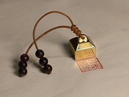 朴度 印章 个性 定制 纯铜 文艺