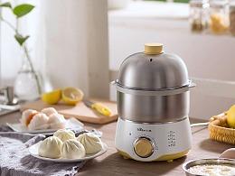 小熊电器 | 不锈钢煮蛋器早餐机【三目摄影作品】