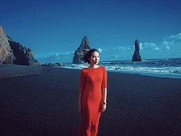 剑戟海岸-冰岛黑沙滩旅拍