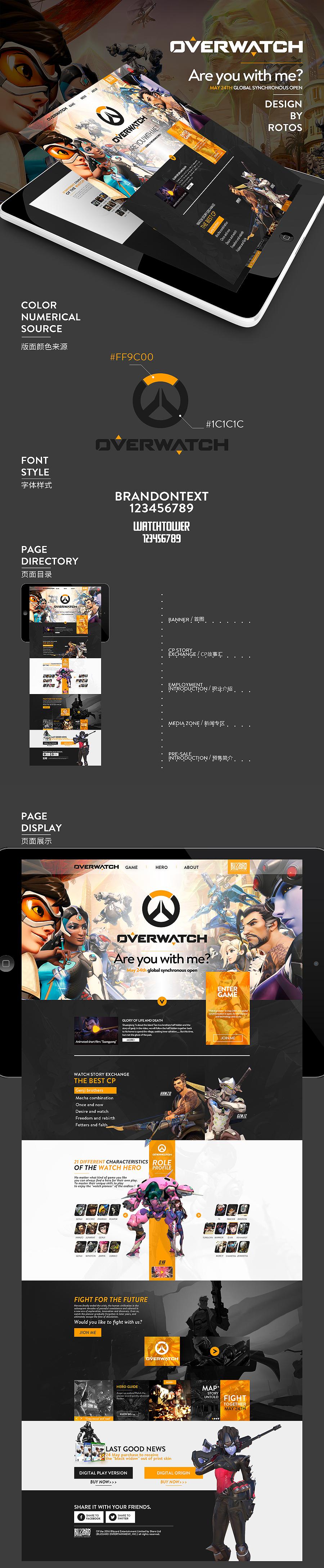 查看《【守望先锋】OverWatch》原图,原图尺寸:900x4360