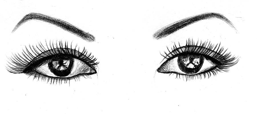 原创作品:眼睛手绘