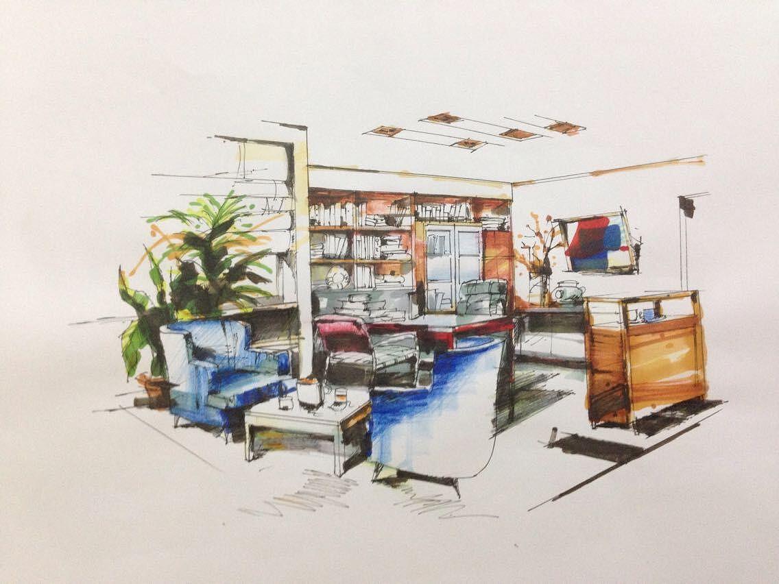 家具手绘线稿临摹图片