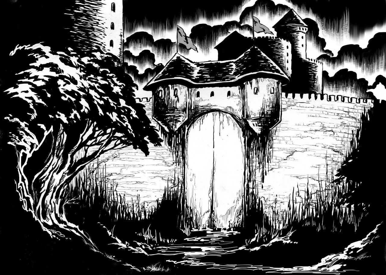 格林童话插图|插画|商业插画|赵画画 - 原创作品