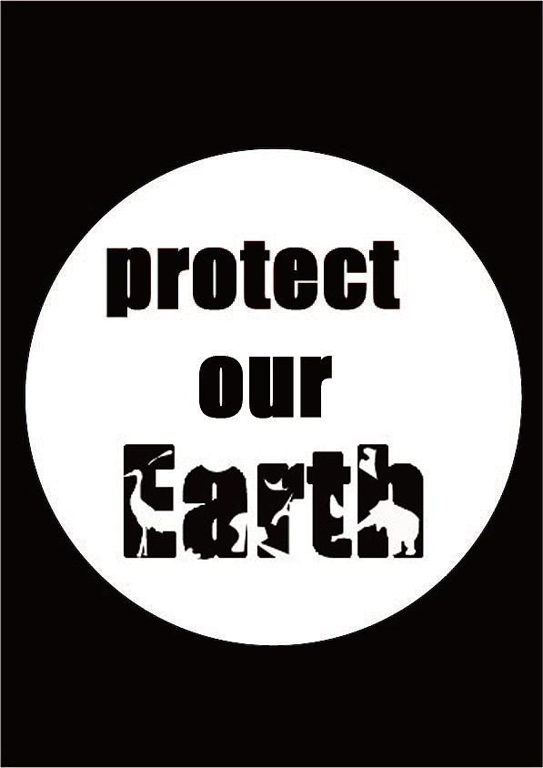 保护环境公益海报图片
