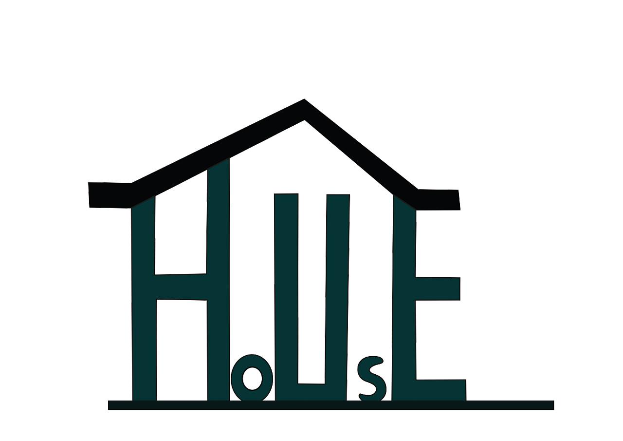 根据房子的特性而设计的一款标志.图片