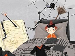 《善良的小女巫》及其他插图