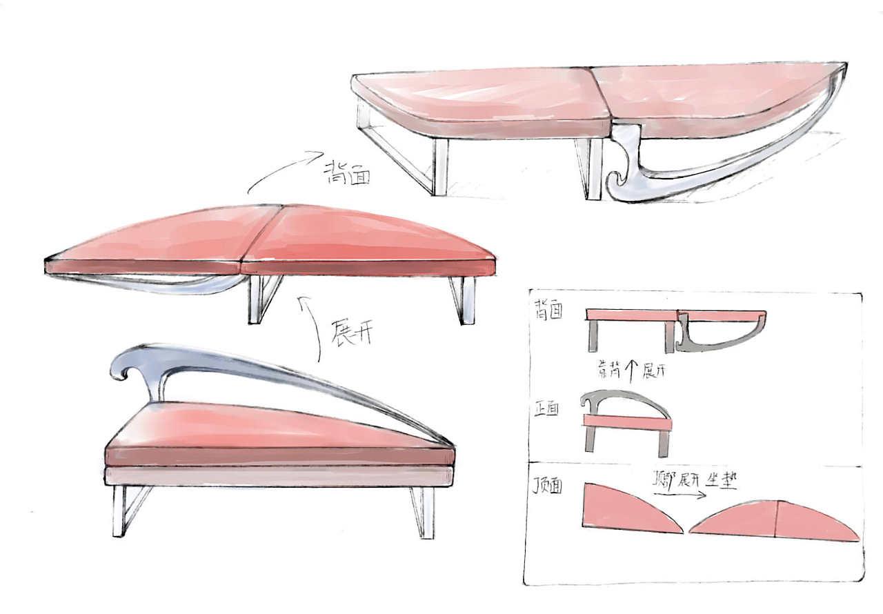 折叠沙发椅图片_沙发躺椅|工业/产品|家具|仪氏 - 原创作品 - 站酷 (ZCOOL)