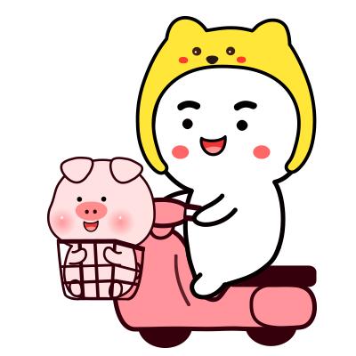 小笨情侣像微信头像小笨猪表情表情猪头包信微图片可爱图片