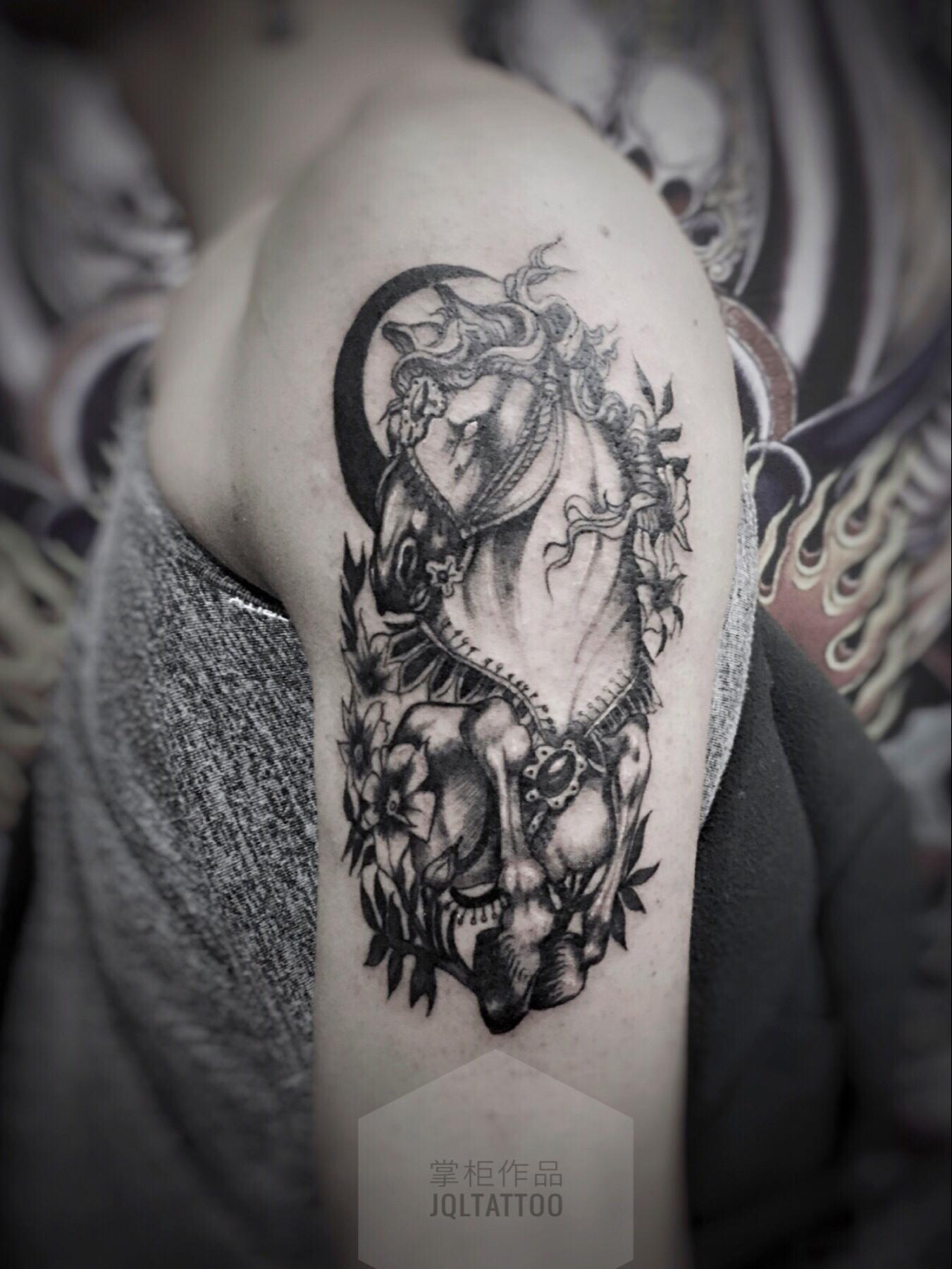 纹身作品图片