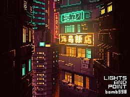 城市光点像素测试