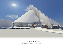 阿拉善月亮湖博物馆整体方案