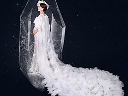 孕妇照 白蝴蝶