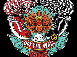 VANS Asian Art TEE ——Goldfish