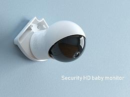 Eufy  Security 产品渲染