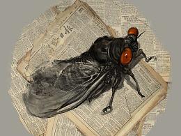 画我想画——虫