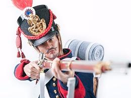 拿破仑战争系列野战炮兵  1/6比例