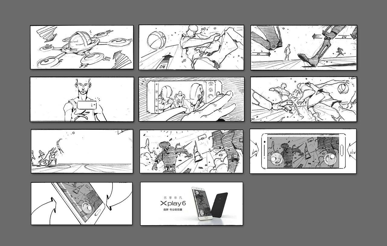 手机映画_Vivo Xplay6动画广告|影视|短片|PAPA映画 - 原创作品 - 站酷 (ZCOOL)