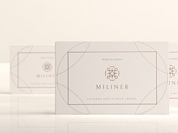 miliner 美瞳品牌视觉/包装设计
