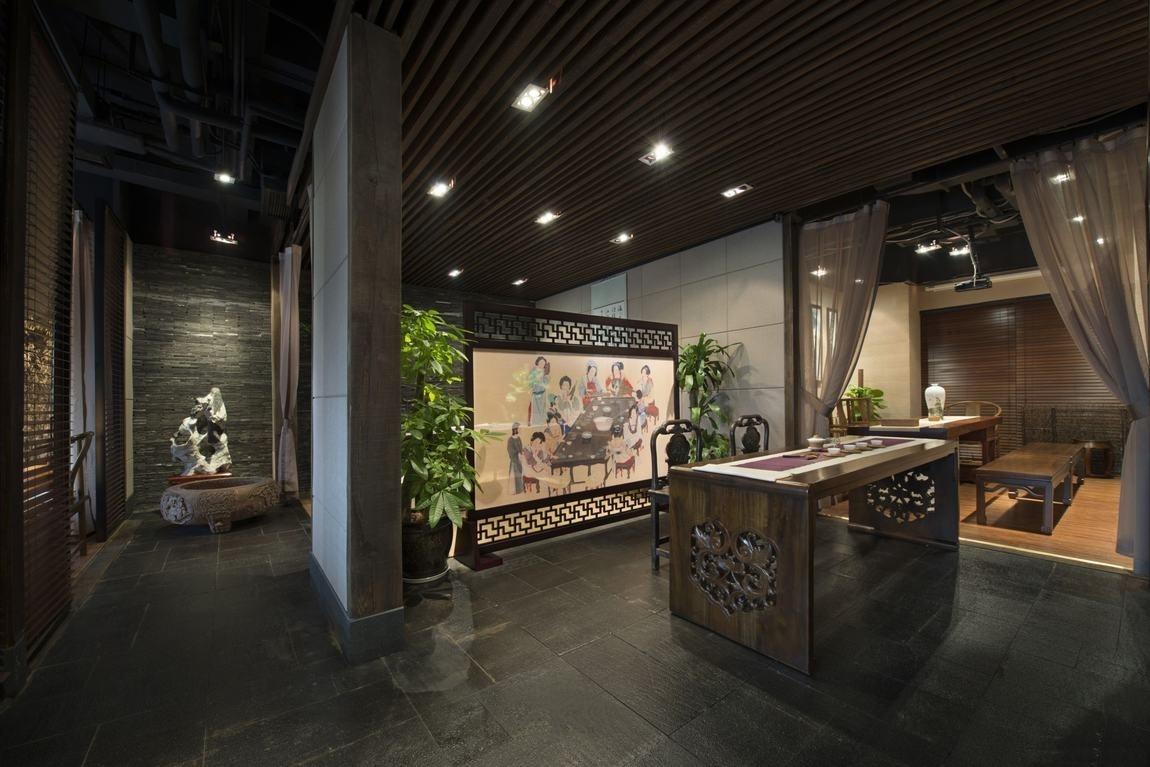 【静茶楼】-扬州茶楼v茶楼|扬州茶坊装修设计铁路专用线图片