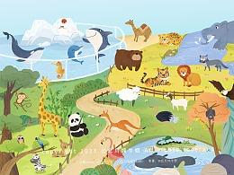 动物园大集合(30只小动物)