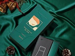 网易严选圣诞礼盒(保温杯,耳机,暖宫腰带,硅藻泥垫)