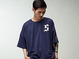 """街头品牌STRETAG®""""S""""Oversize短袖T恤"""